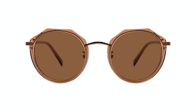 Affordable Fashion Glasses Round Sunglasses Women Womance Jules Front