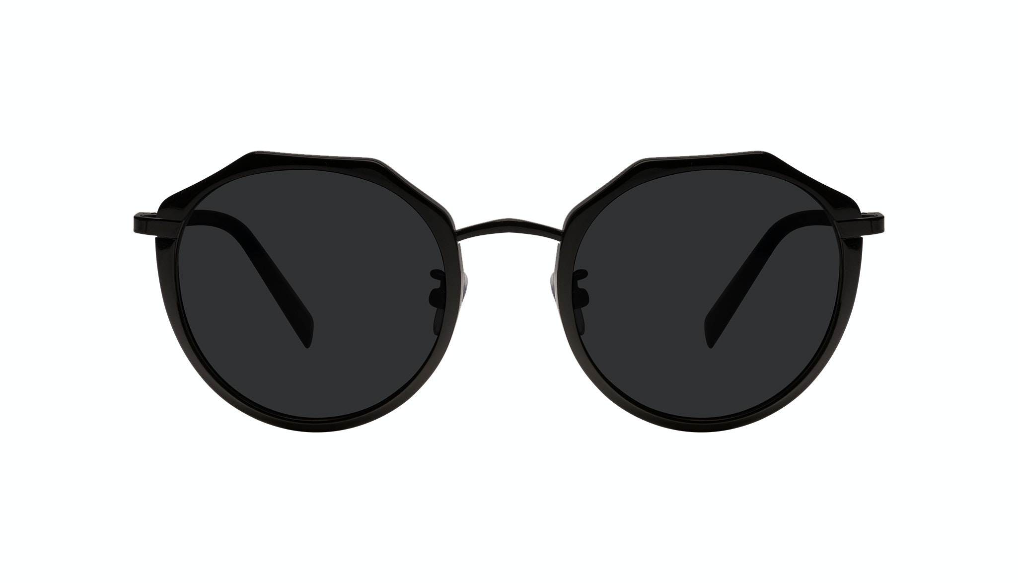 Affordable Fashion Glasses Round Sunglasses Women Womance Matte Front
