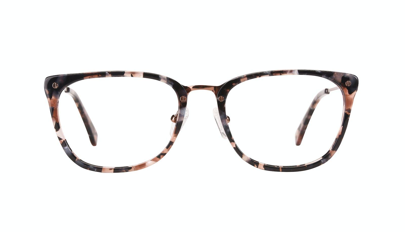 5f2c37e1ed Affordable Fashion Glasses Rectangle Eyeglasses Women Wonder Pink Flake
