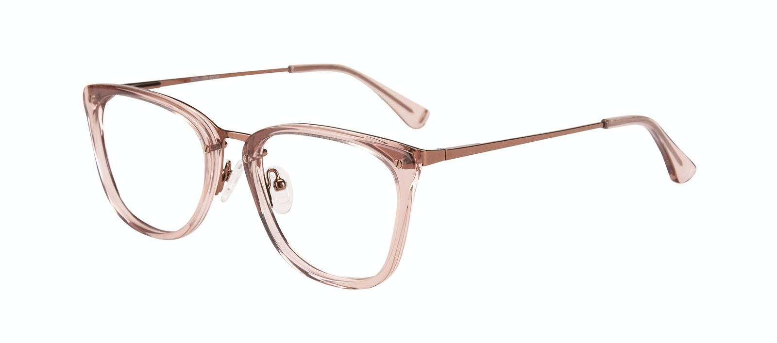 Affordable Fashion Glasses Rectangle Eyeglasses Women Wonder Rose Tilt