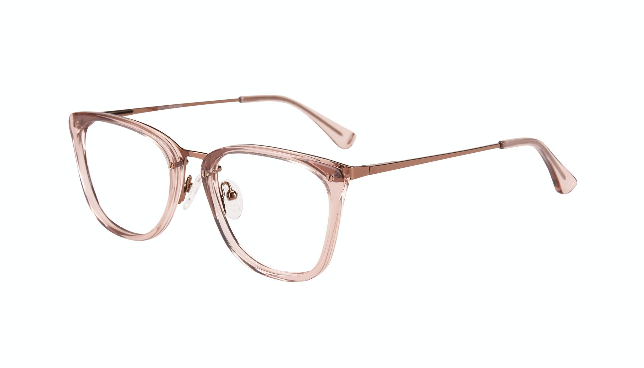 Affordable Fashion Glasses Rectangle Eyeglasses Women Wonder Rose Tilt
