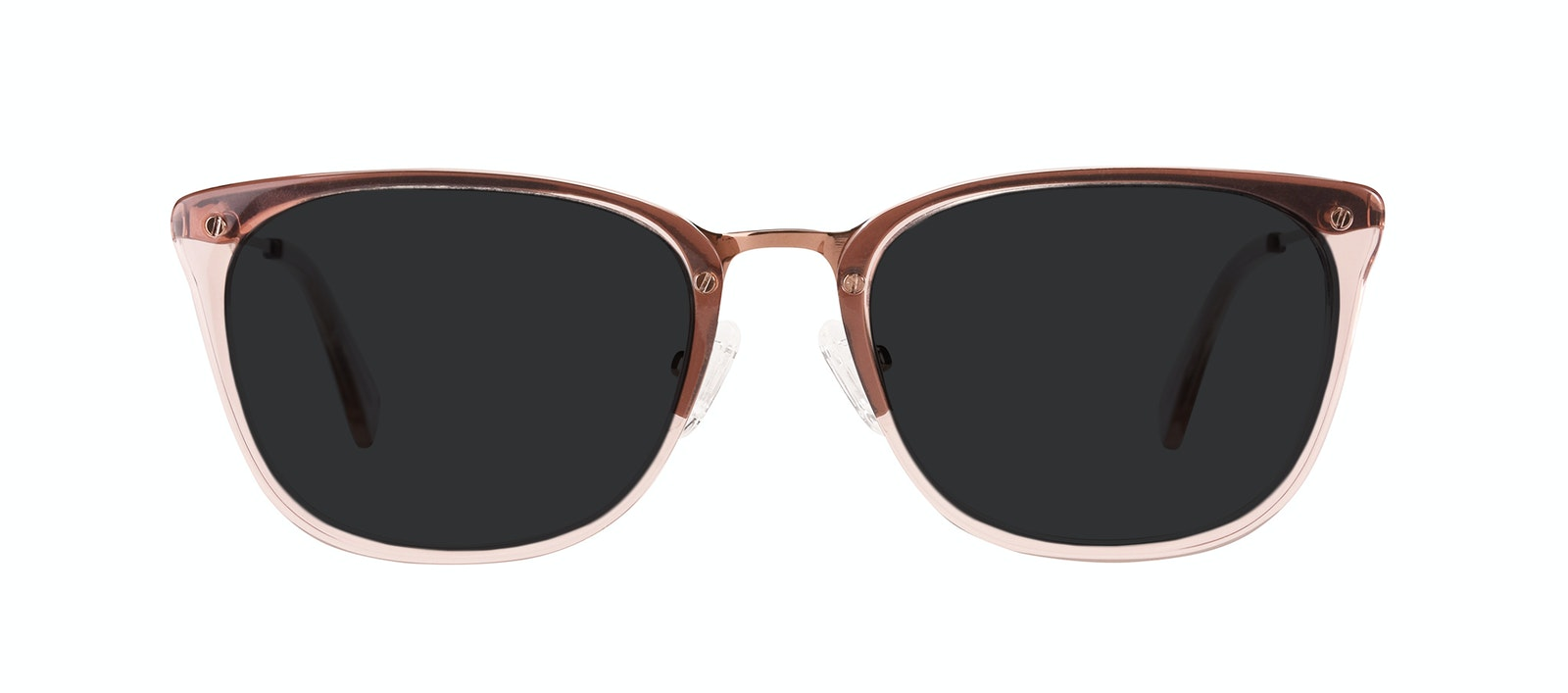 Affordable Fashion Glasses Rectangle Sunglasses Women Wonder Rose Front