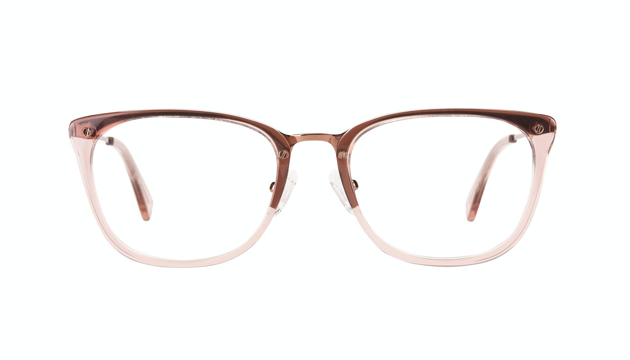 Affordable Fashion Glasses Rectangle Eyeglasses Women Wonder Rose Front