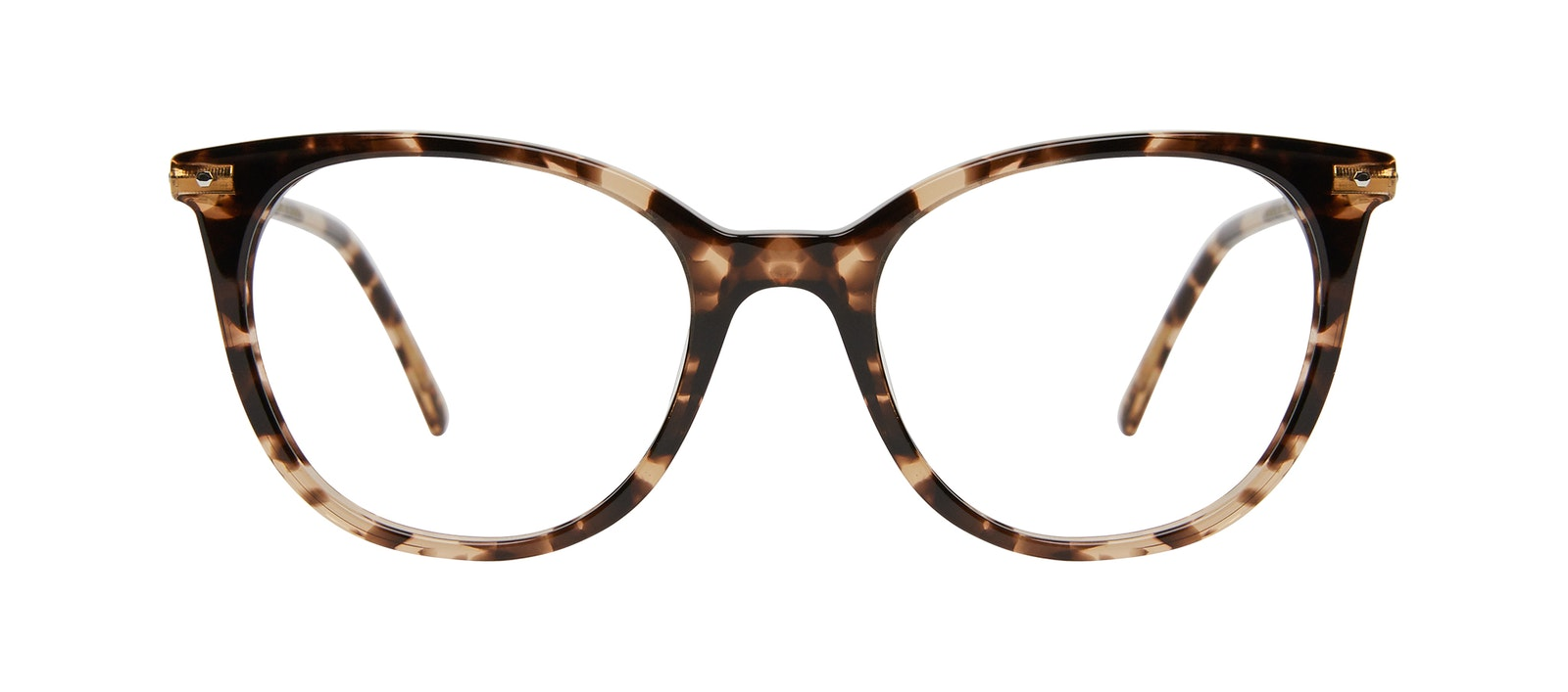 Affordable Fashion Glasses Square Eyeglasses Women Wordly Leopard Front