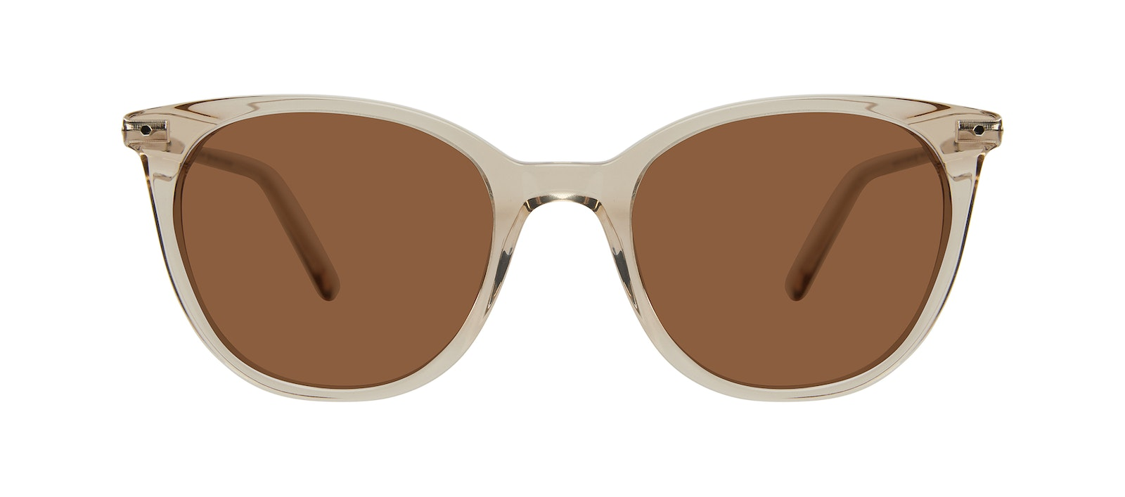 Affordable Fashion Glasses Square Sunglasses Women Wordly Olive Front