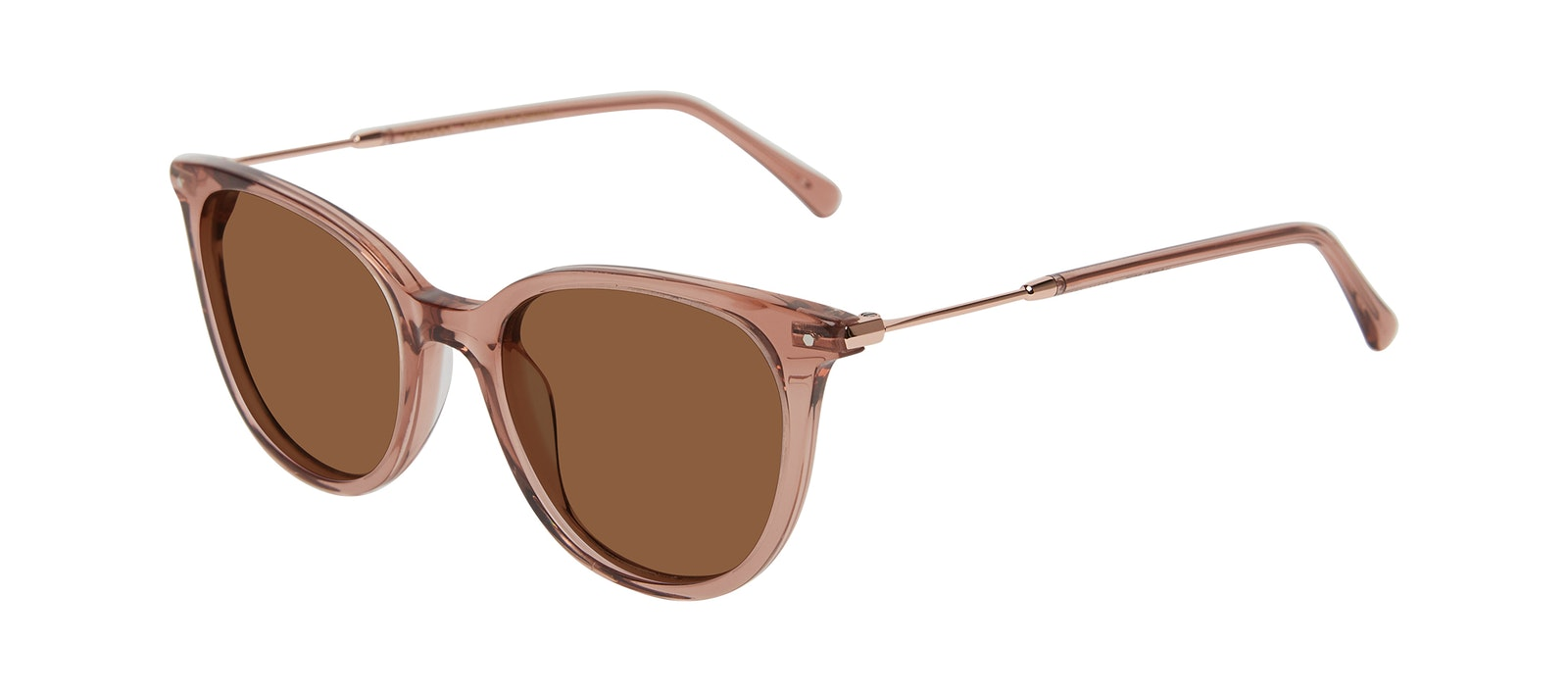 Affordable Fashion Glasses Square Sunglasses Women Wordly Rose Tilt