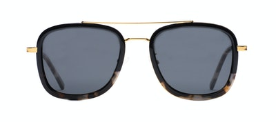 Affordable Fashion Glasses Aviator Rectangle Sunglasses Men Class Black Stone Front