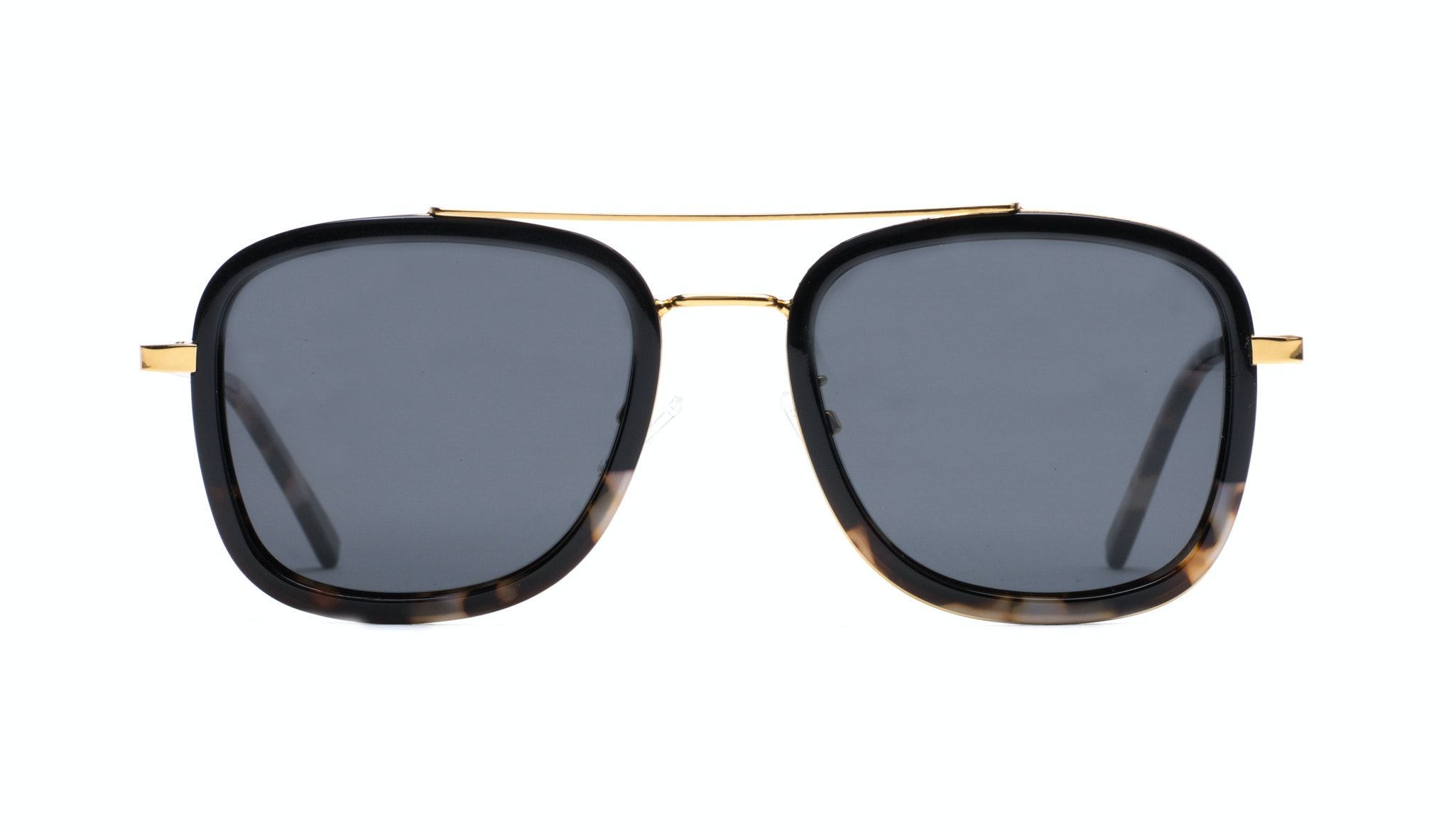 Affordable Fashion Glasses Aviator Rectangle Sunglasses Men Class Black Stone