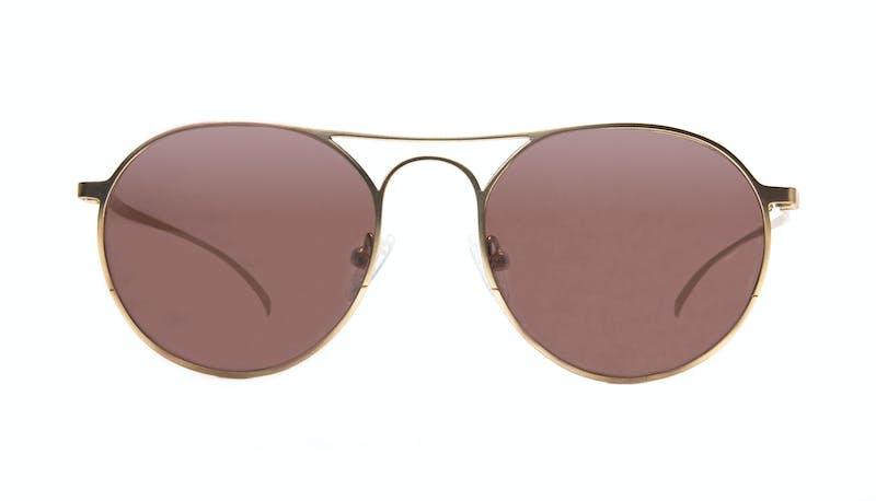 d0a41d9f6ee Affordable Fashion Glasses Aviator Round Sunglasses Men Contour Gold