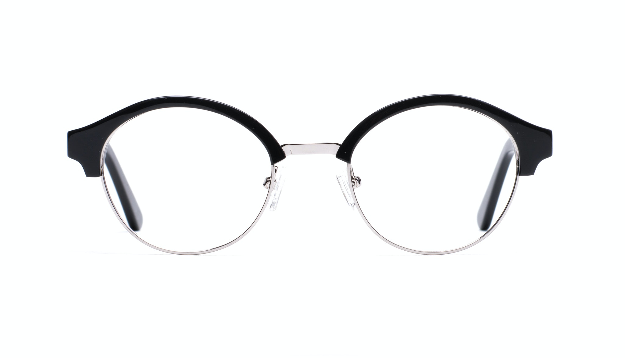 Affordable Fashion Glasses Round Eyeglasses Men Craft Black