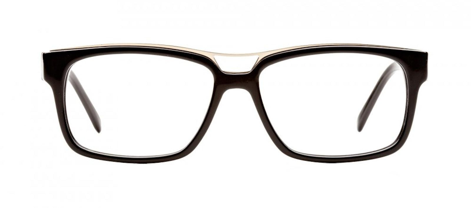 c53b01f723d ... Affordable Fashion Glasses Rectangle Eyeglasses Men Hotshot Black Front  ...