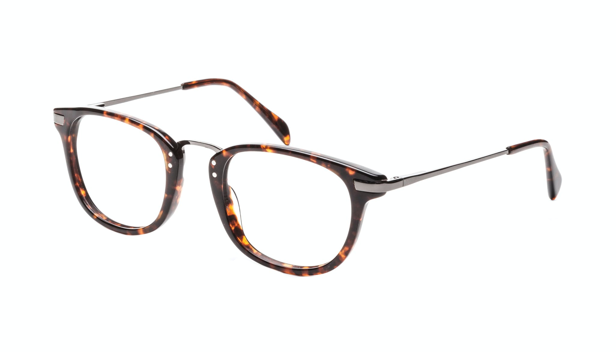 Affordable Fashion Glasses Rectangle Square Eyeglasses Men Daze Sepia Tilt