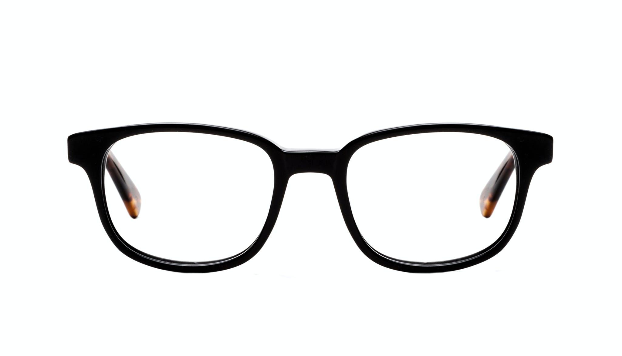 Affordable Fashion Glasses Rectangle Square Eyeglasses Men Magnetic Onyx Sepia Front