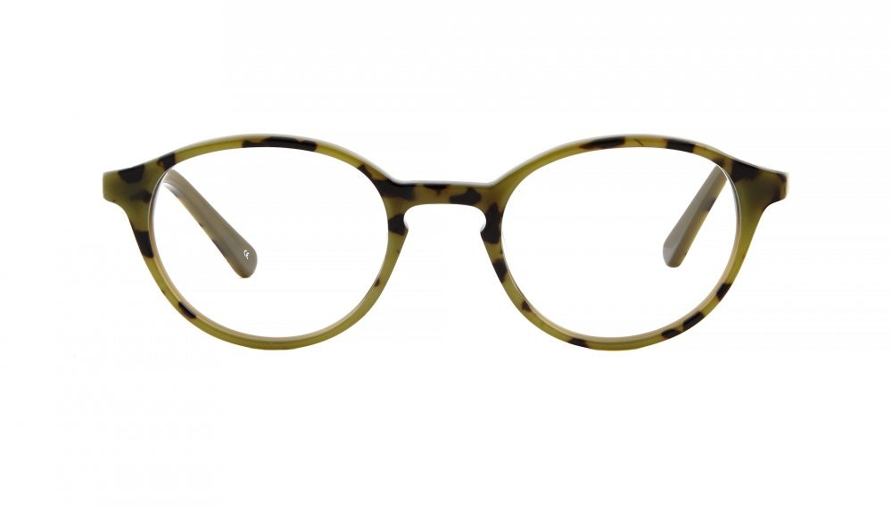 Affordable Fashion Glasses Round Eyeglasses Men Women Laurier Camo Tortoise