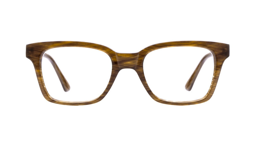 Affordable Fashion Glasses Square Eyeglasses Women Jungle Chic Tuscan Tweed Front