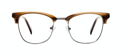 Affordable Fashion Glasses Square Eyeglasses Men Lift Toffee Front