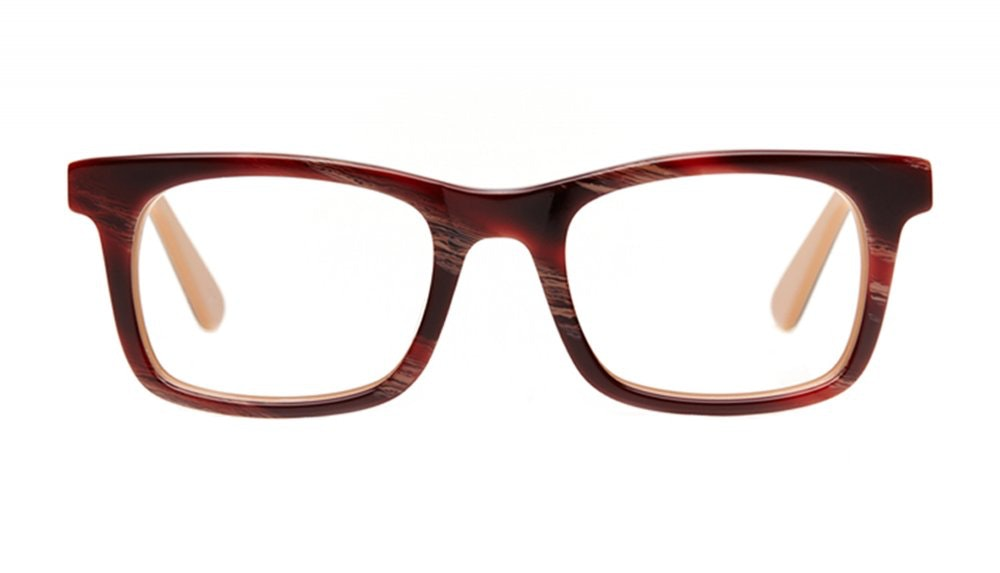 Affordable Fashion Glasses Square Eyeglasses Men Women Belgo Agate Front