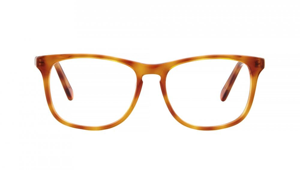Affordable Fashion Glasses Square Eyeglasses Men Fairmount Havana Front