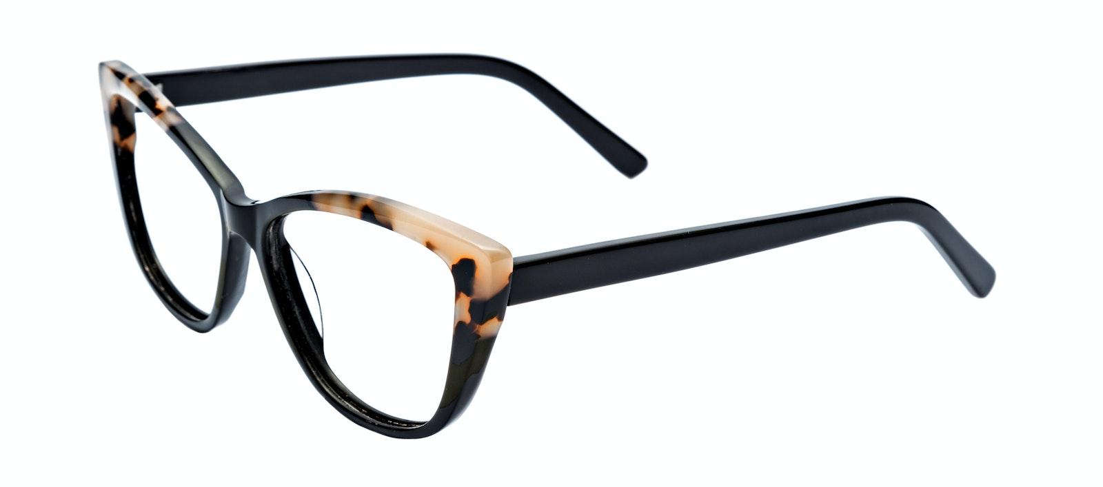 7c2e8cfa36cc Affordable Fashion Glasses Cat Eye Daring Cateye Eyeglasses Women Dolled Up Ebony  Granite Tilt