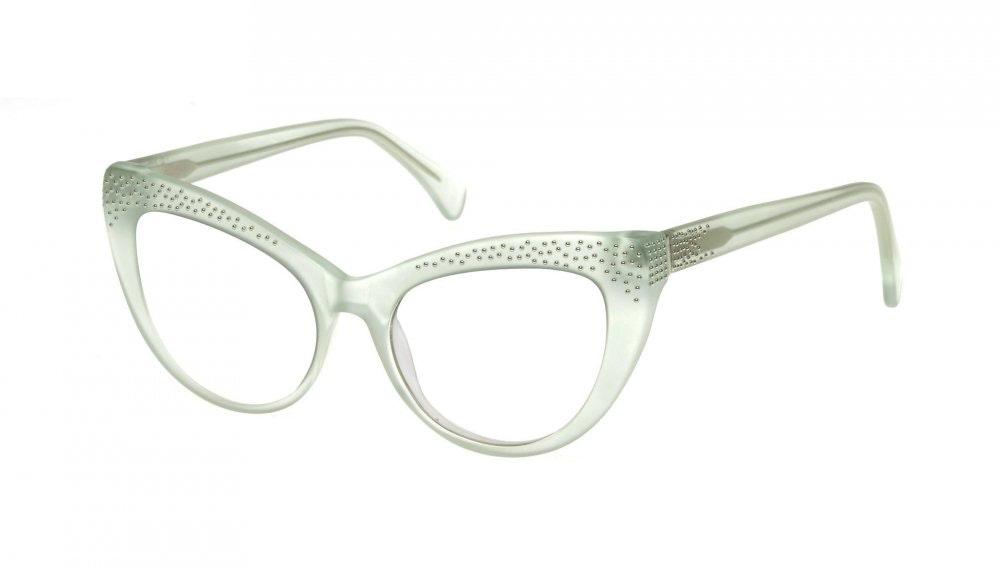 Affordable Fashion Glasses Cat Eye Eyeglasses Women Keiko Miku Mint Tilt