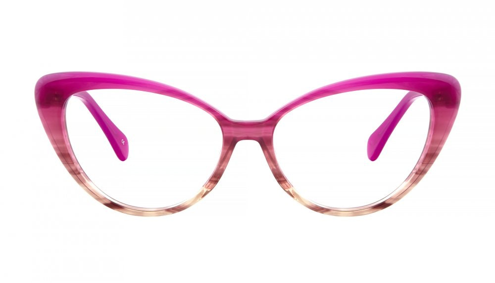 Affordable Fashion Glasses Cat Eye Eyeglasses Women Bombshell Pink Cosmo Front