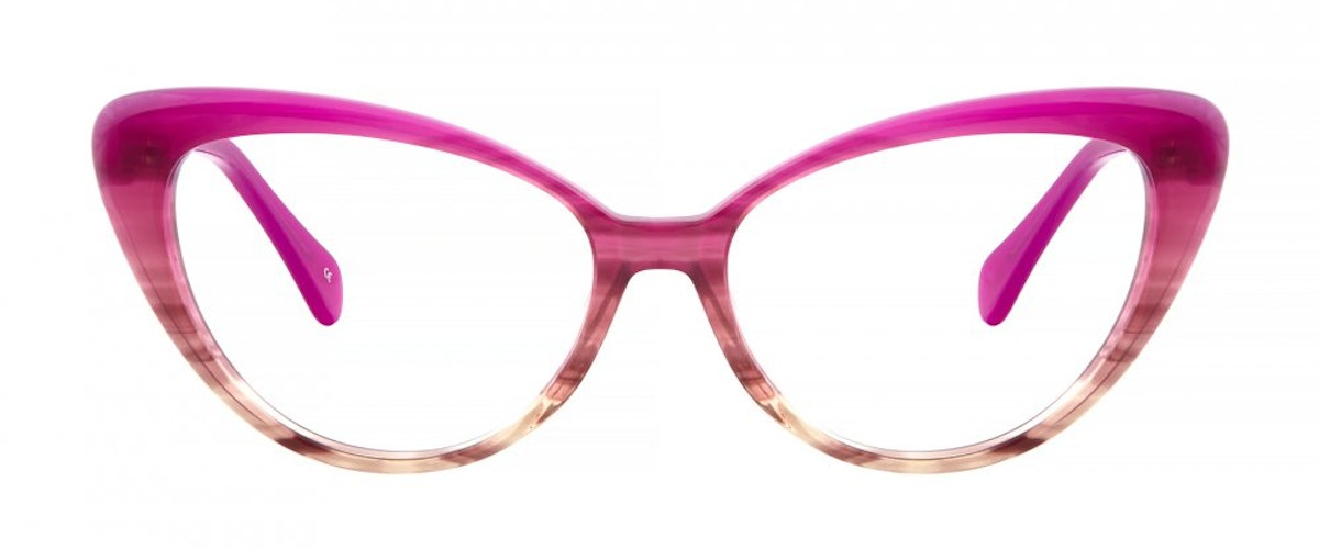Pink Cat Eye Eyeglasses