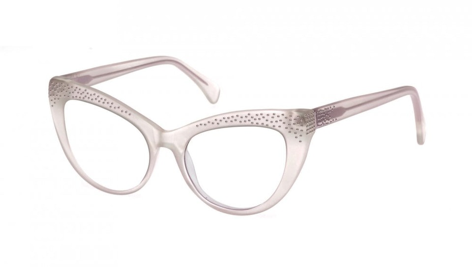 Affordable Fashion Glasses Cat Eye Eyeglasses Women Keiko Barbie Pink Tilt