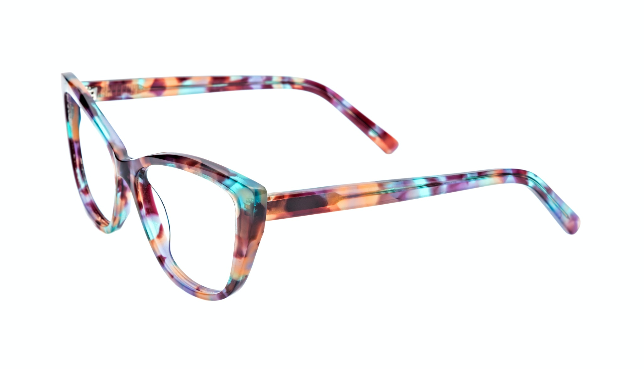 Affordable Fashion Glasses Cat Eye Eyeglasses Women Dolled Up Dazzling Tilt