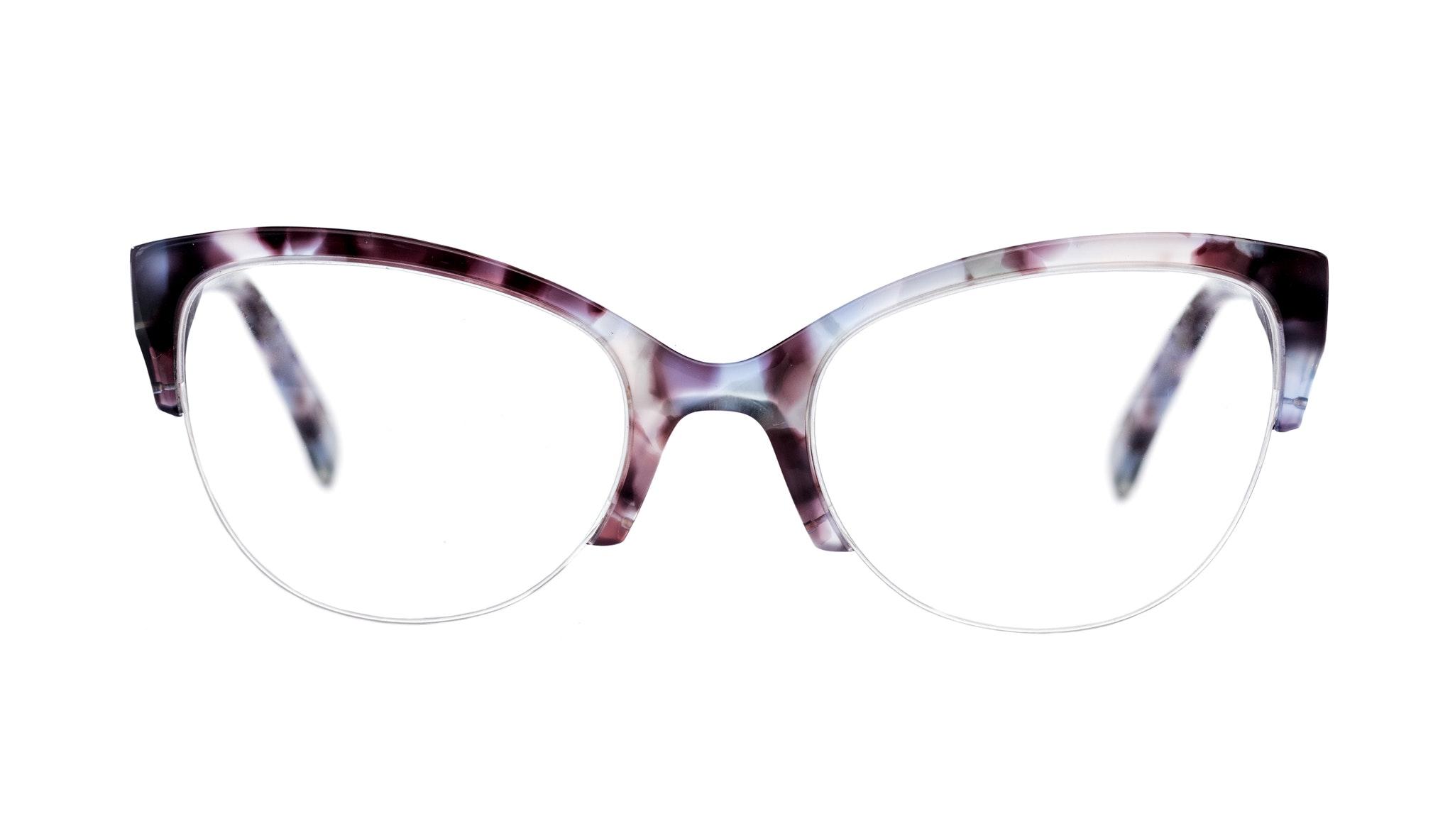 Affordable Fashion Glasses Cat Eye Eyeglasses Women Lovely Lilac Tort Front