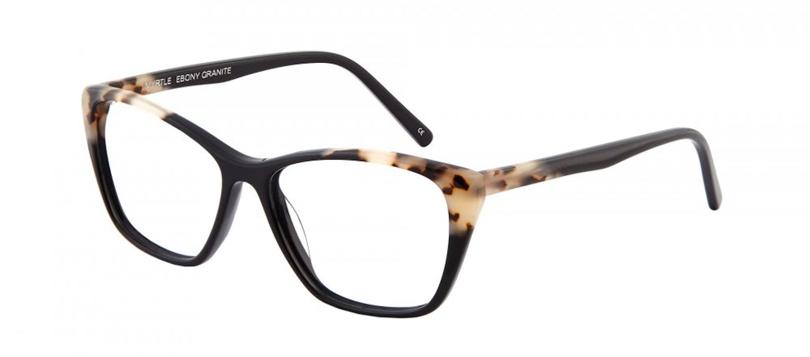 ef270e489d Affordable Fashion Glasses Cat Eye Rectangle Eyeglasses Women Myrtle Ebony  Granite Tilt