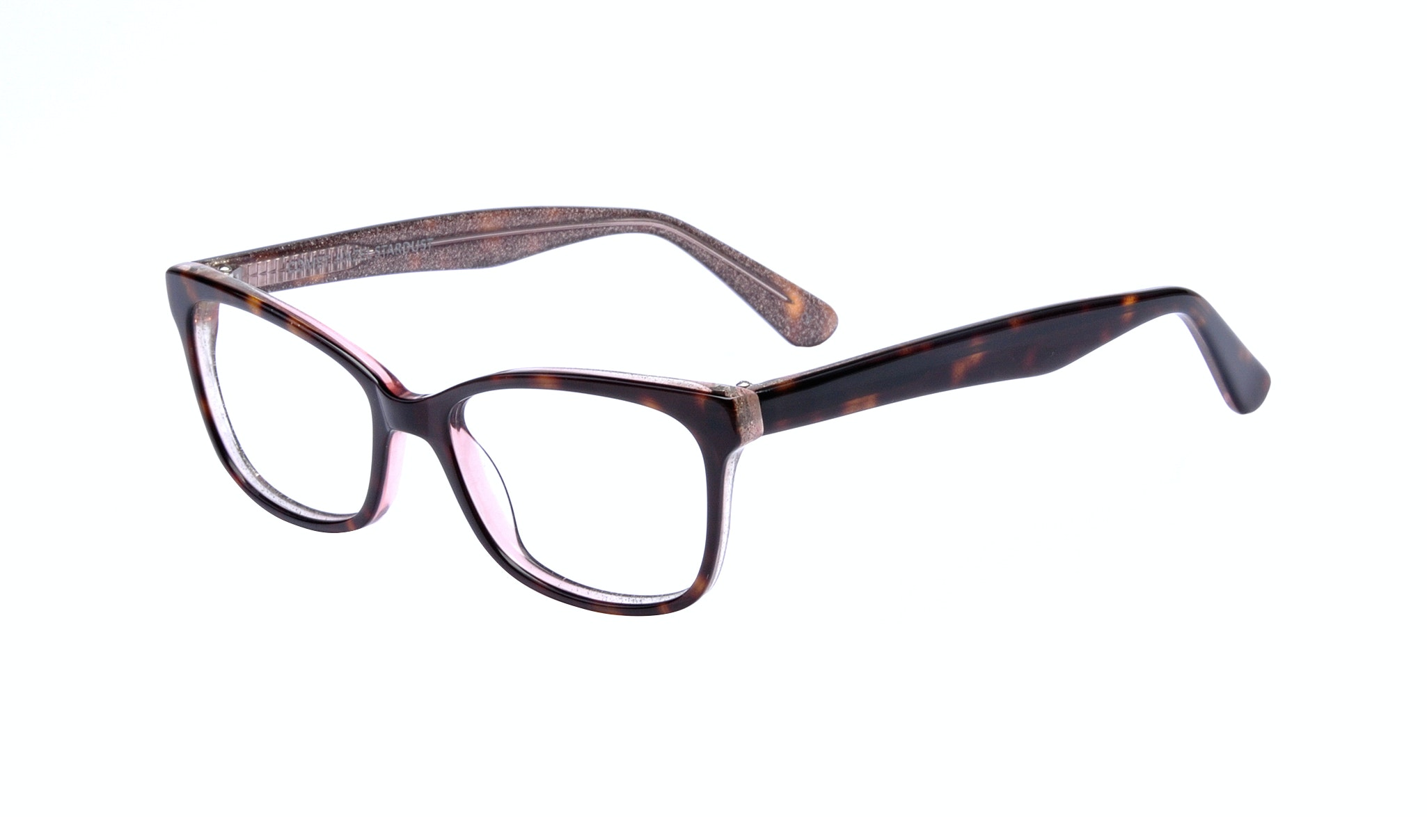 Affordable Fashion Glasses Cat Eye Rectangle Square Eyeglasses Women Comet Hazel Stardust Tilt
