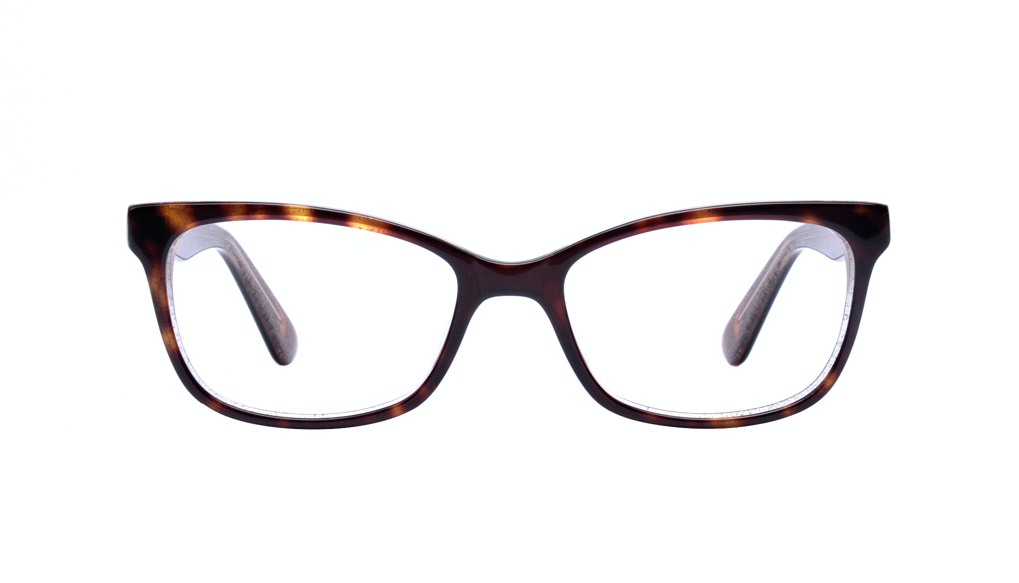 Affordable Fashion Glasses Cat Eye Rectangle Eyeglasses Women Comet Hazel Stardust Front