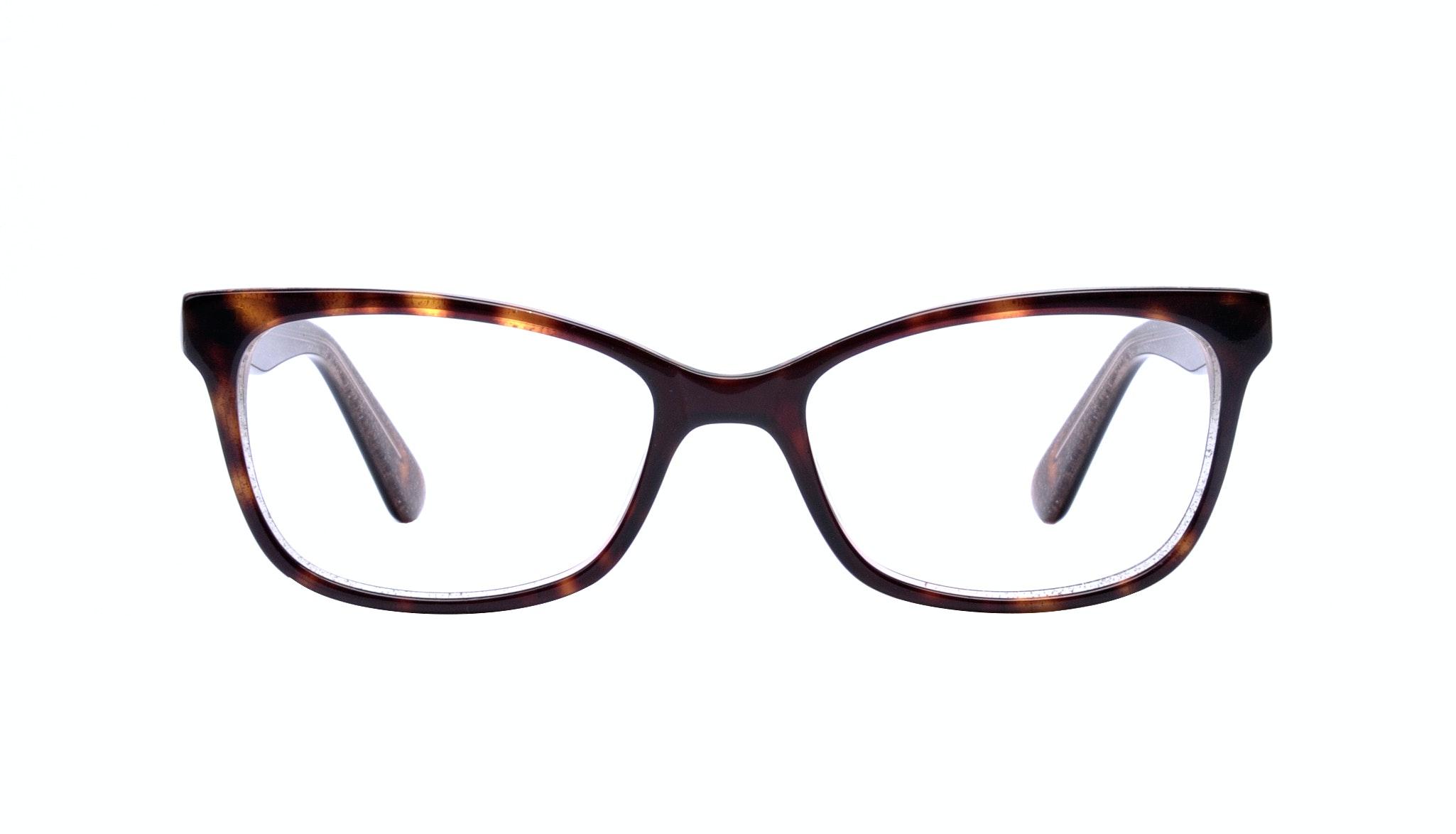 Affordable Fashion Glasses Cat Eye Rectangle Square Eyeglasses Women Comet Hazel Stardust Front
