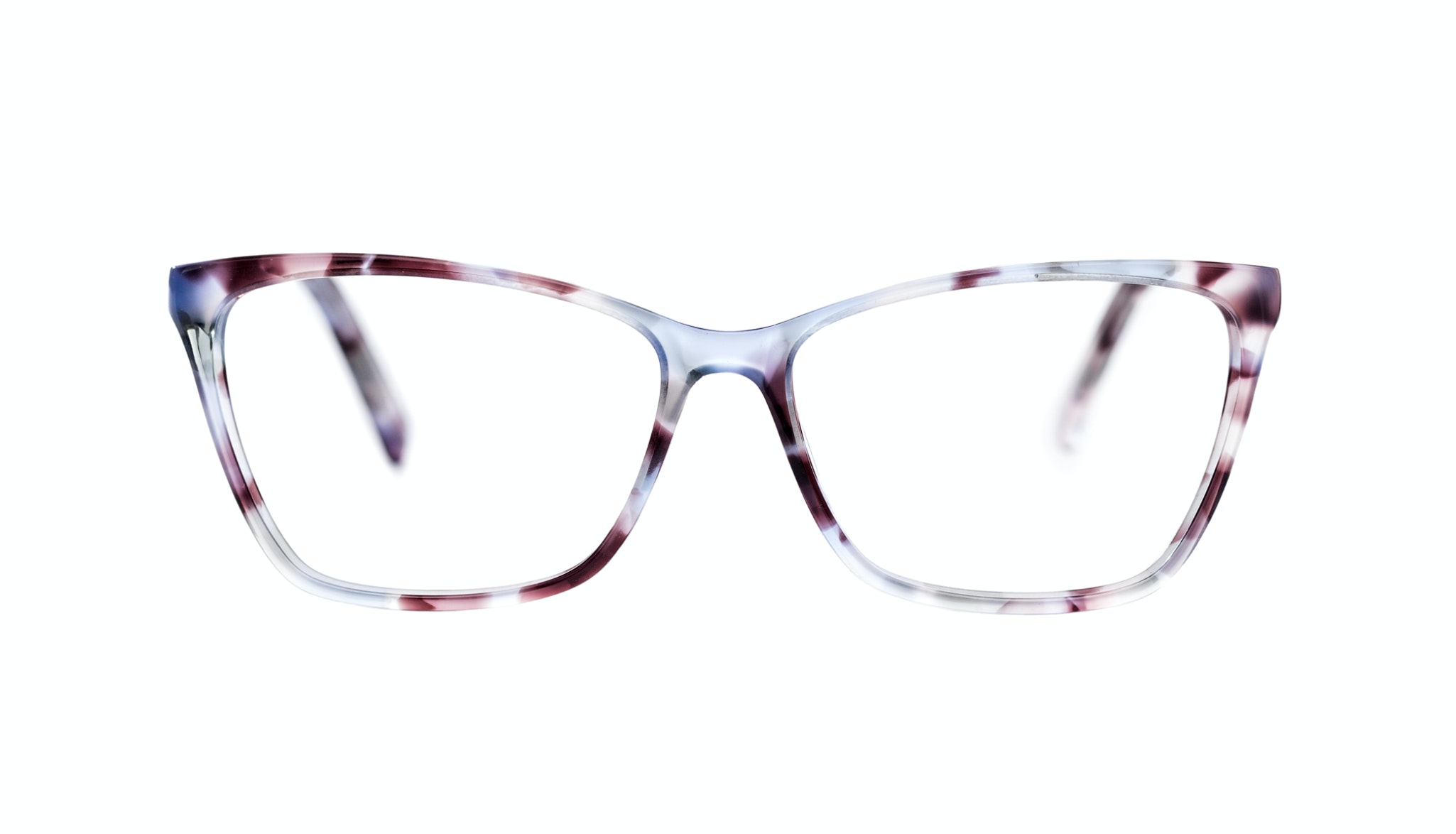 Affordable Fashion Glasses Cat Eye Rectangle Eyeglasses Women Happy Lilac Tort