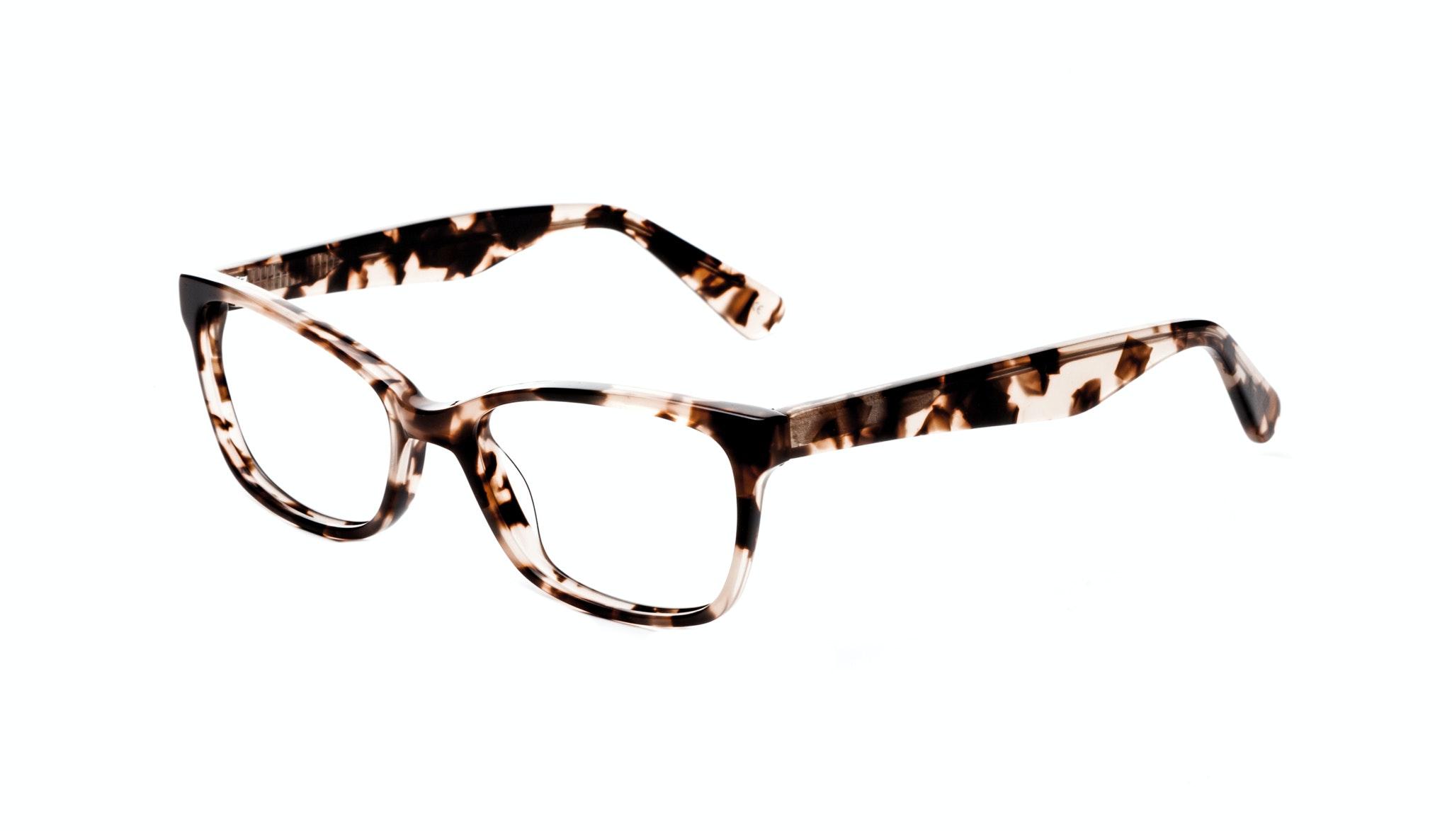 Affordable Fashion Glasses Cat Eye Rectangle Square Eyeglasses Women Comet Pink Tortoise Tilt