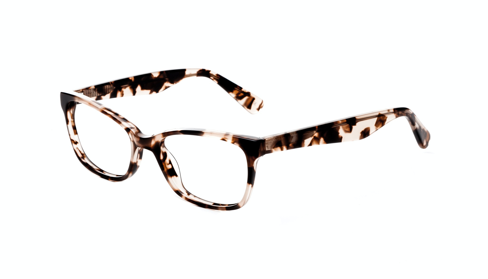 Affordable Fashion Glasses Cat Eye Rectangle Eyeglasses Women Comet Pink Tortoise Tilt