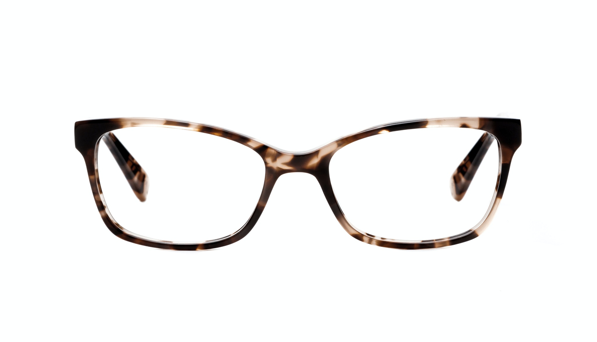 Affordable Fashion Glasses Cat Eye Rectangle Eyeglasses Women Comet Pink Tortoise Front