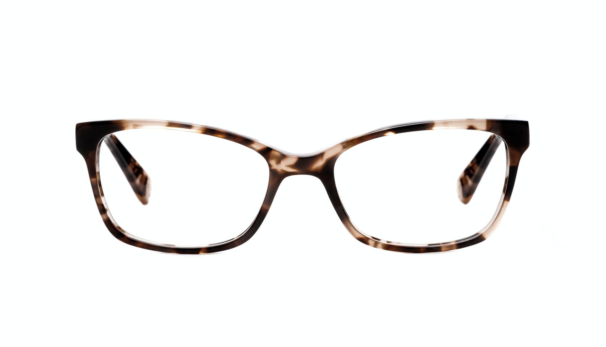 Affordable Fashion Glasses Cat Eye Rectangle Square Eyeglasses Women Comet Pink Tortoise Front