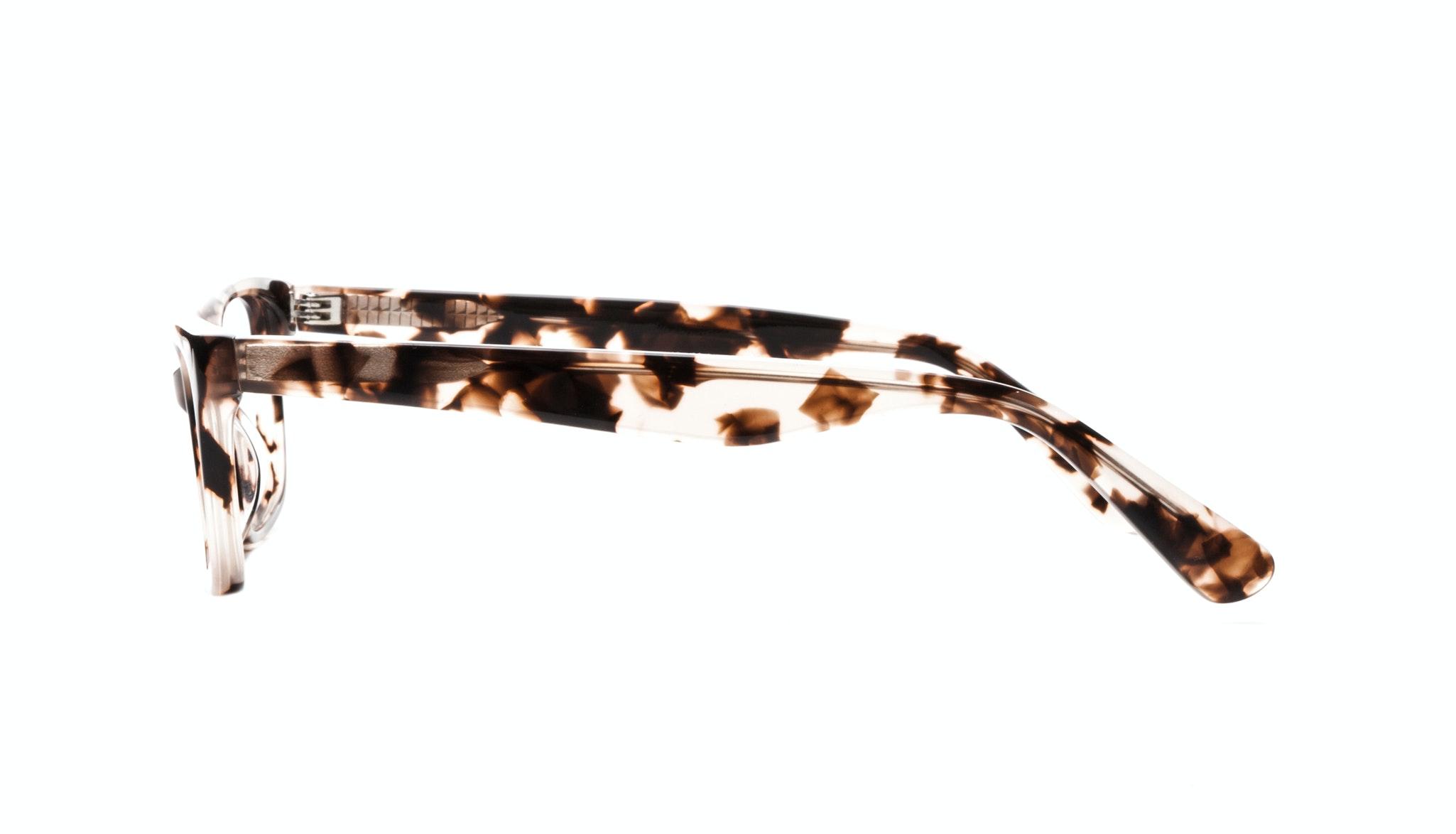 Affordable Fashion Glasses Cat Eye Rectangle Eyeglasses Women Comet Pink Tortoise Side
