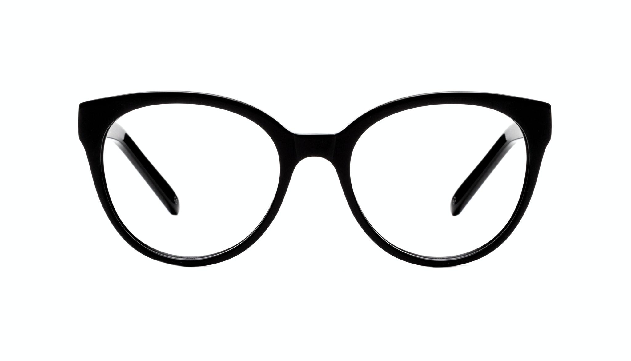 Affordable Fashion Glasses Cat Eye Round Eyeglasses Women Eclipse Onyx