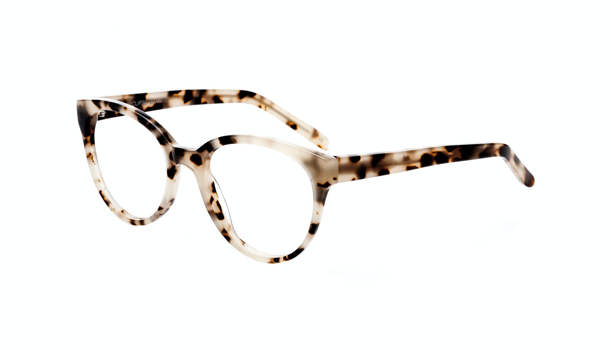 Affordable Fashion Glasses Cat Eye Round Eyeglasses Women Eclipse Granite Tilt