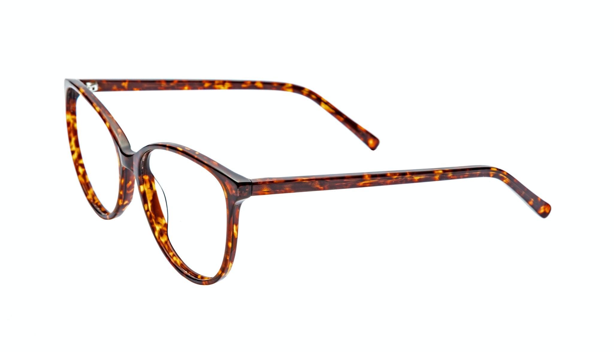 Affordable Fashion Glasses Cat Eye Round Eyeglasses Women Imagine Sepia Kiss Tilt