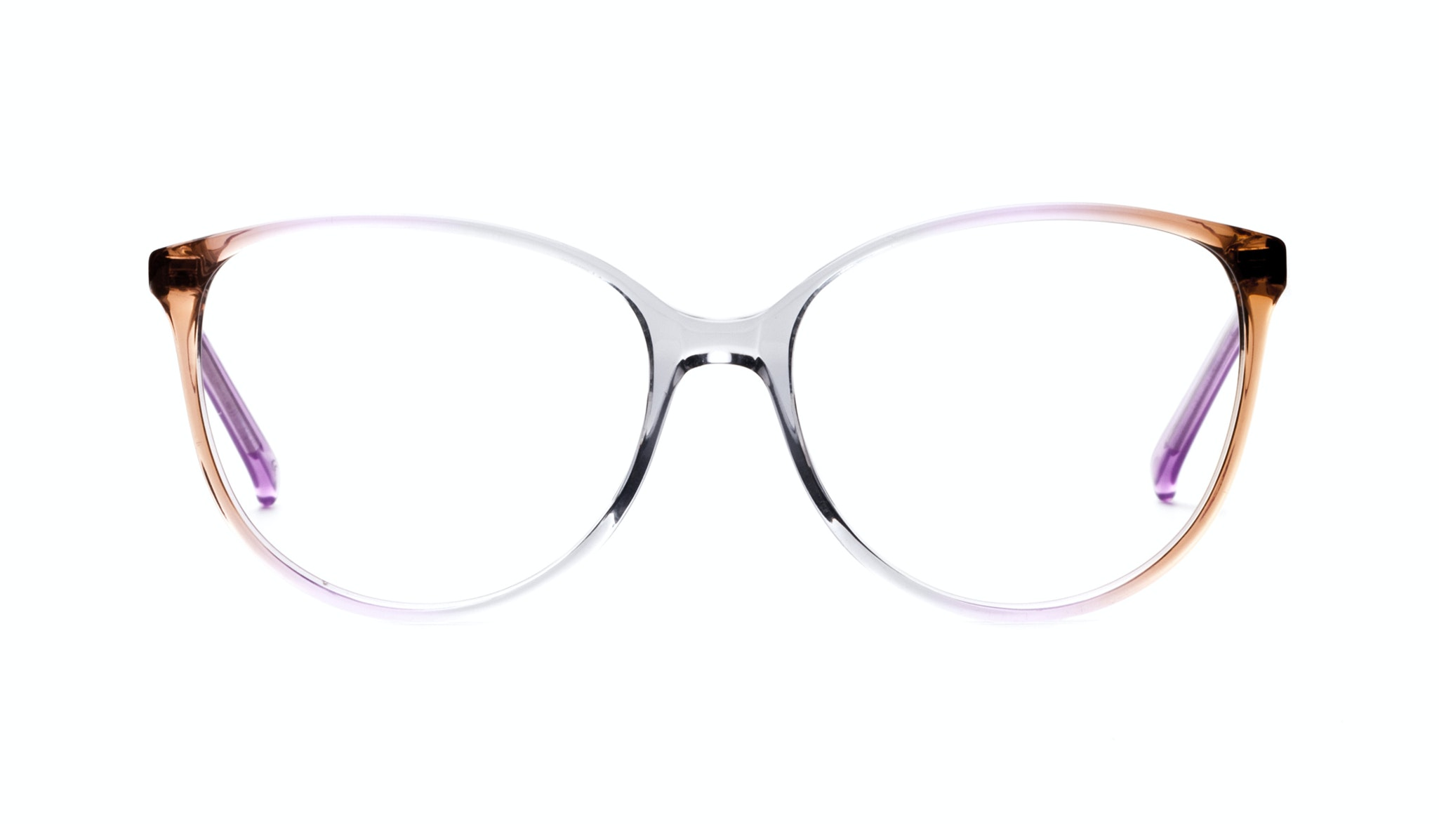 Affordable Fashion Glasses Cat Eye Round Eyeglasses Women Imagine Rainbow Haze