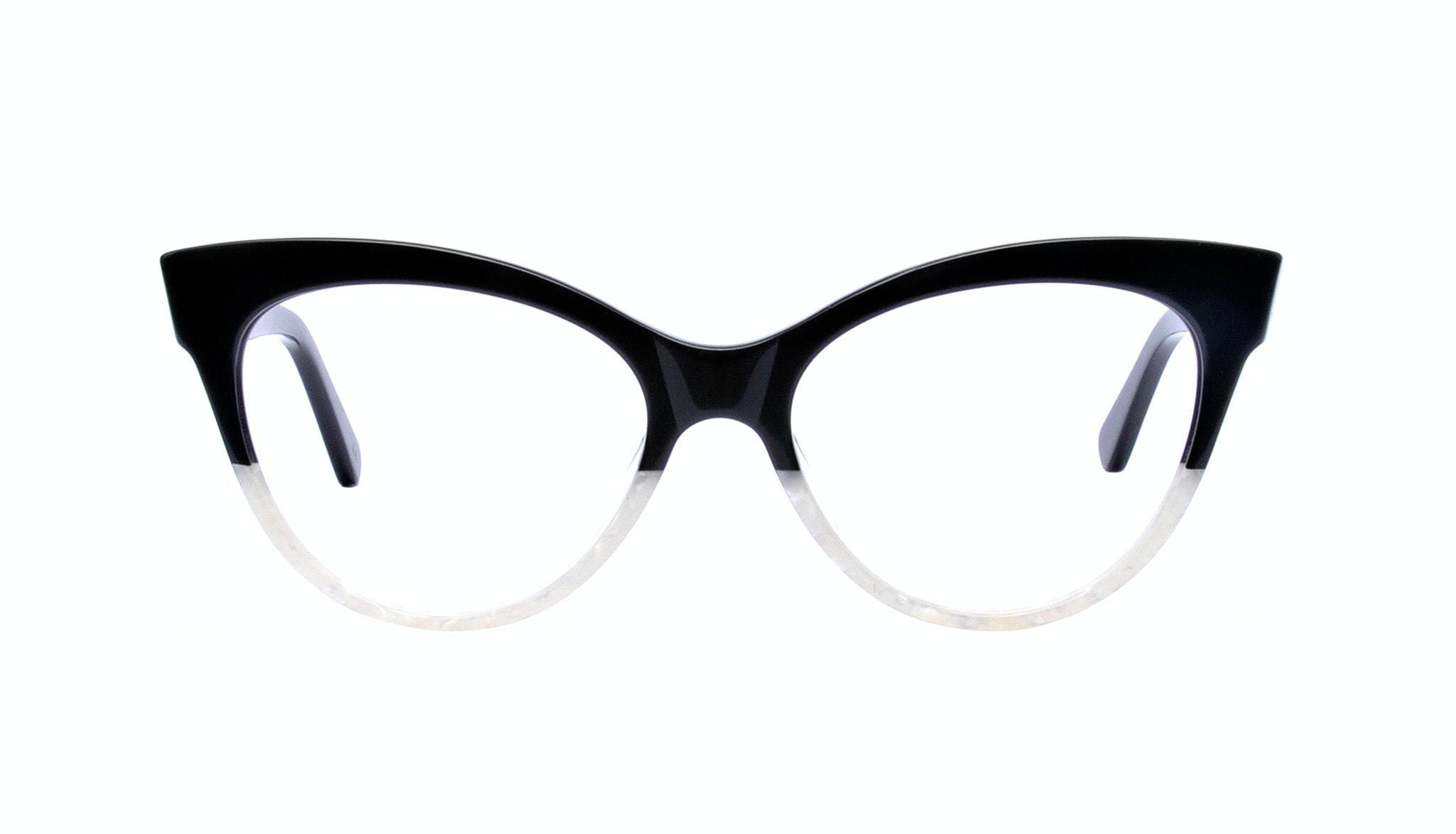 Affordable Fashion Glasses Cat Eye Eyeglasses Women SkunkBoy Panda Pearl Front