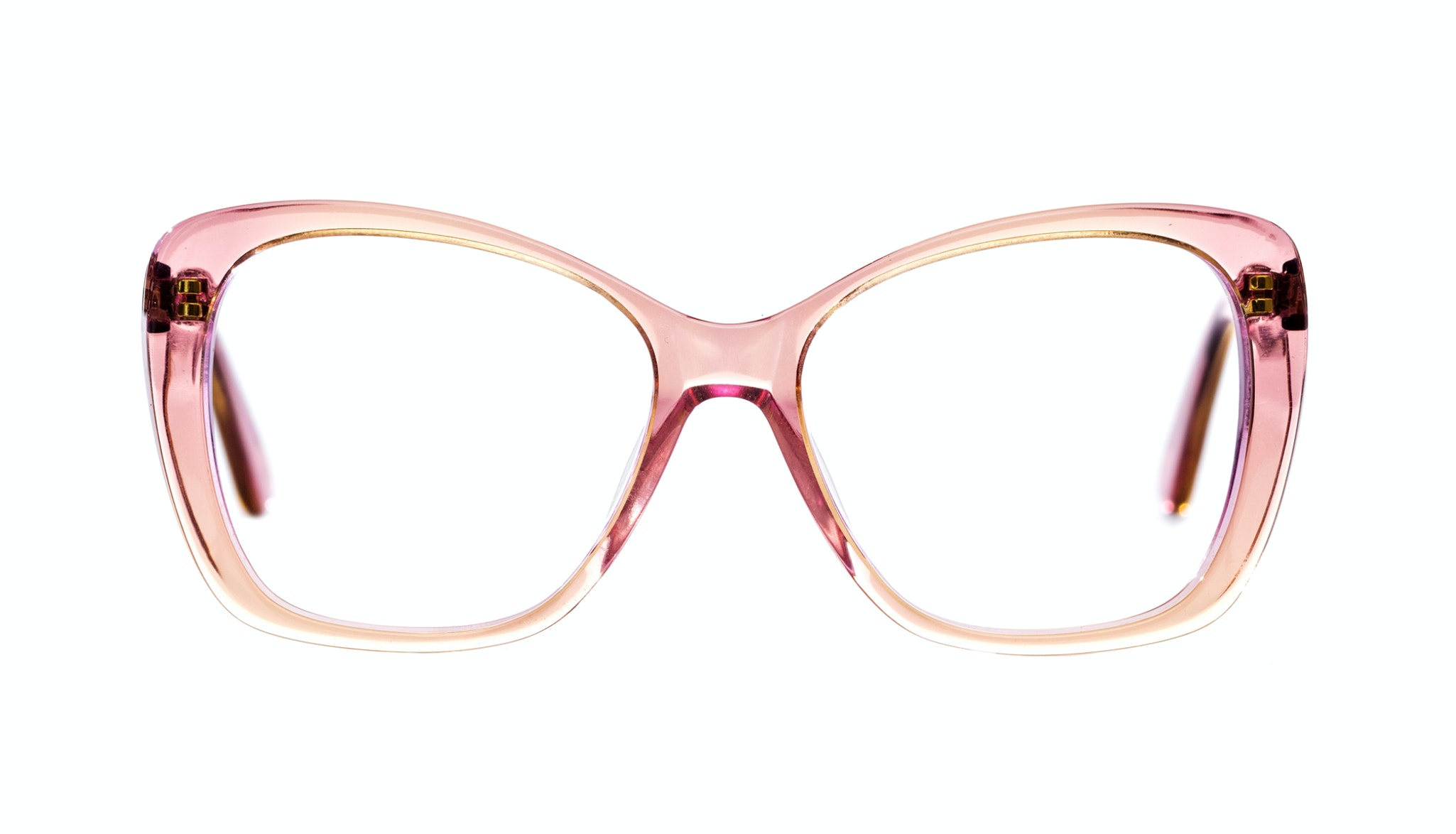 Affordable Fashion Glasses Cat Eye Square Eyeglasses Women Charm Pink Haze