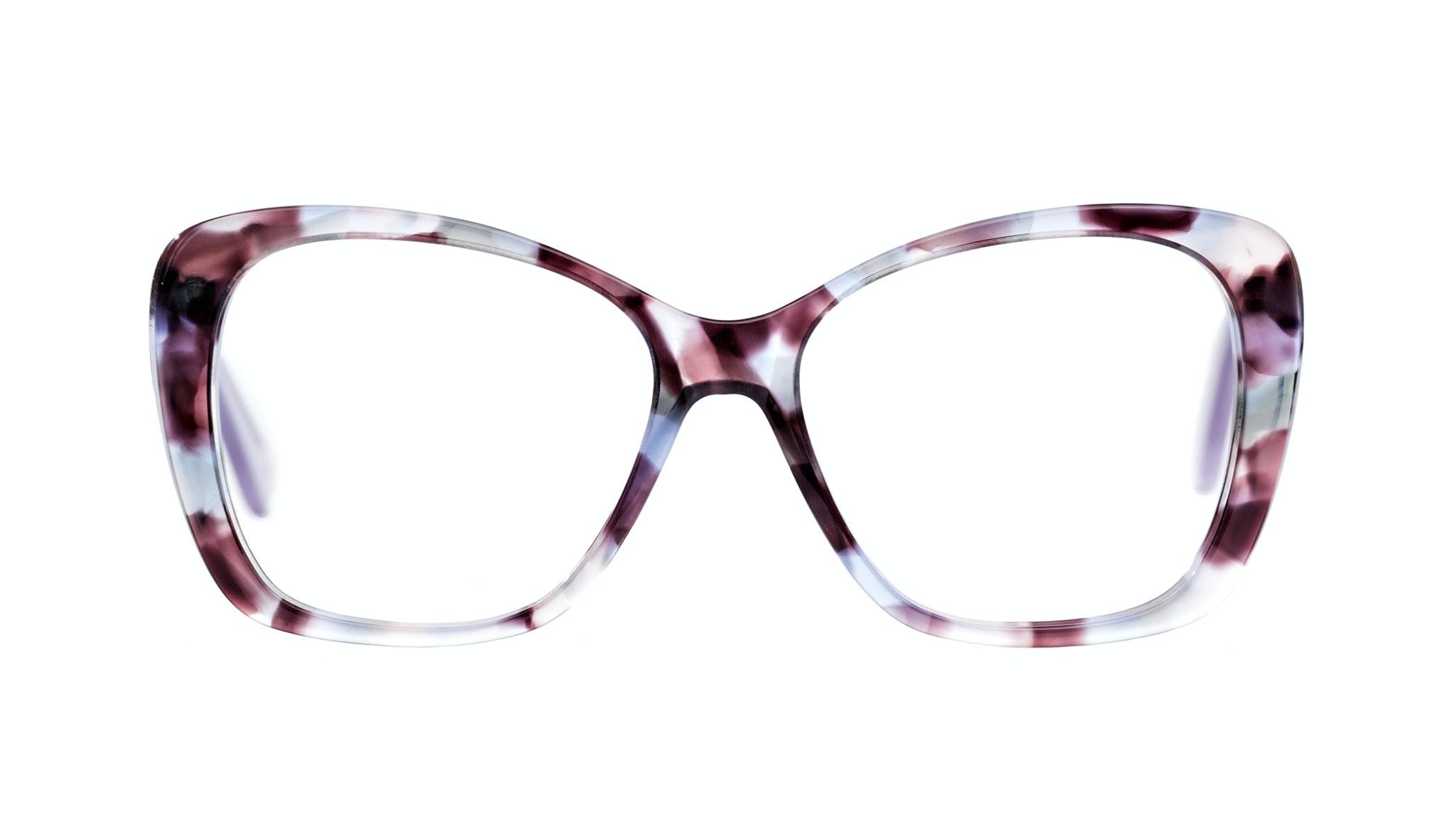 Affordable Fashion Glasses Cat Eye Square Eyeglasses Women Charm Lilac Tort
