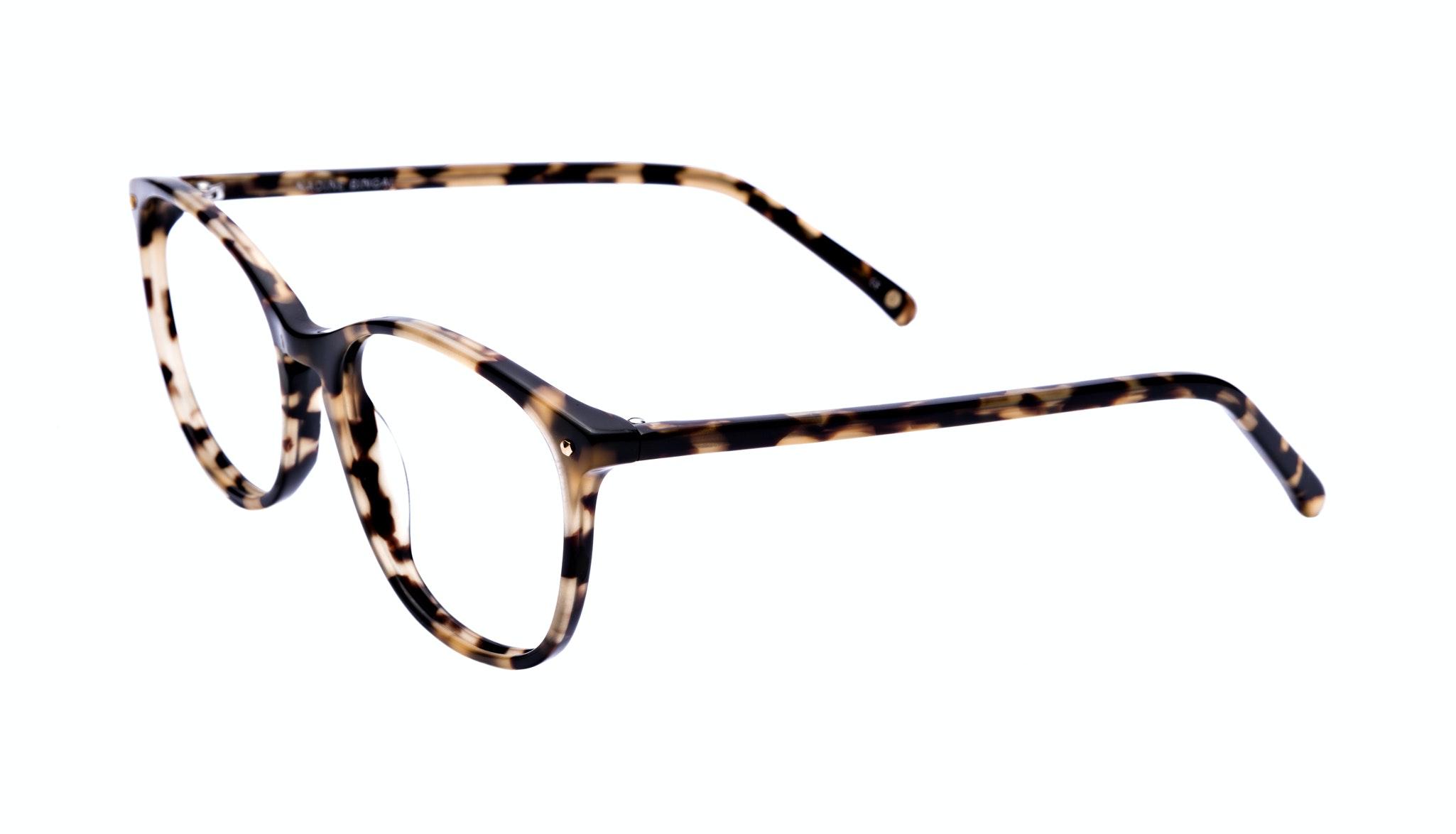 Affordable Fashion Glasses Rectangle Round Eyeglasses Women Nadine Bingal Tilt