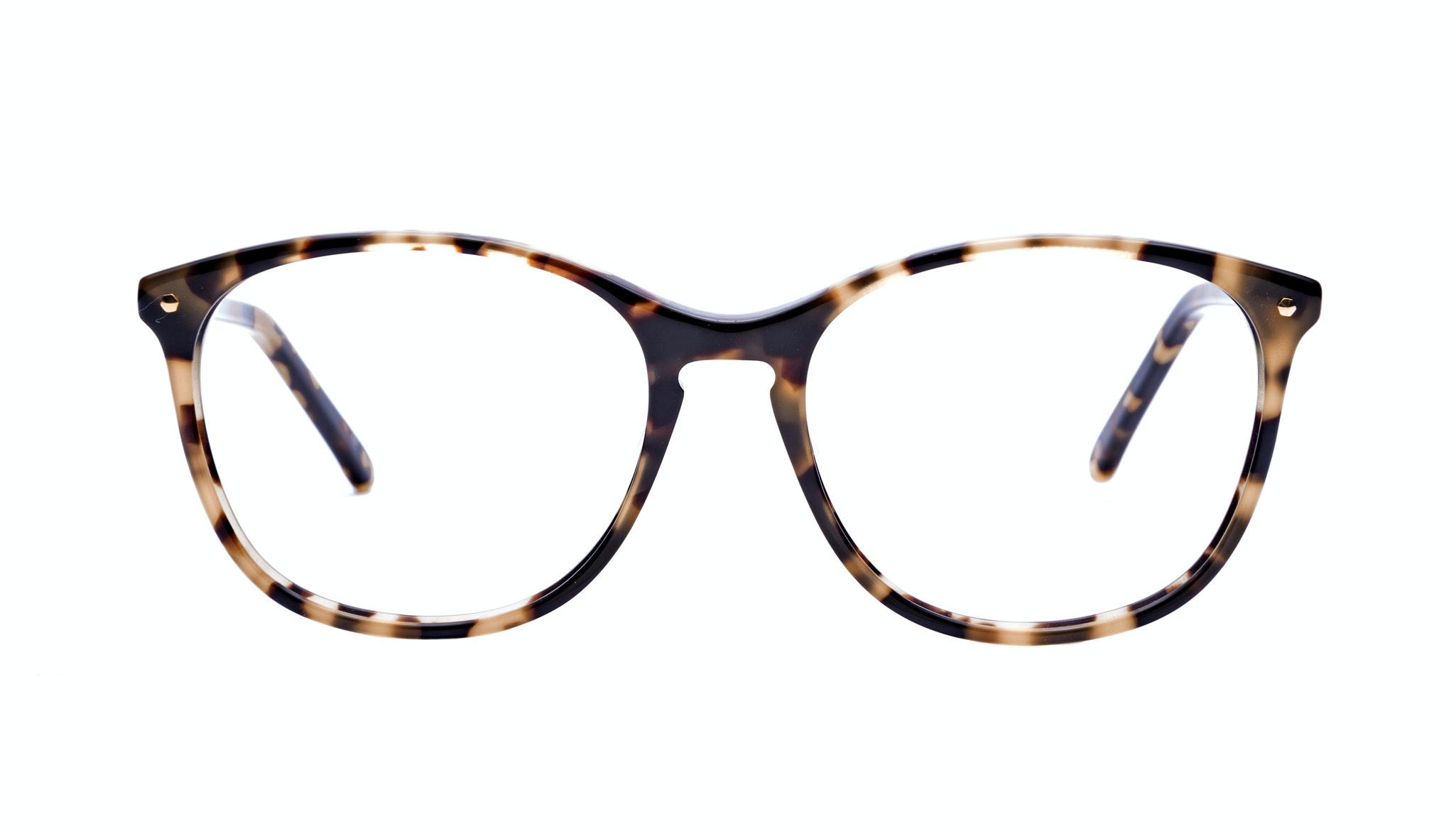 Affordable Fashion Glasses Rectangle Round Eyeglasses Women Nadine Bingal Front