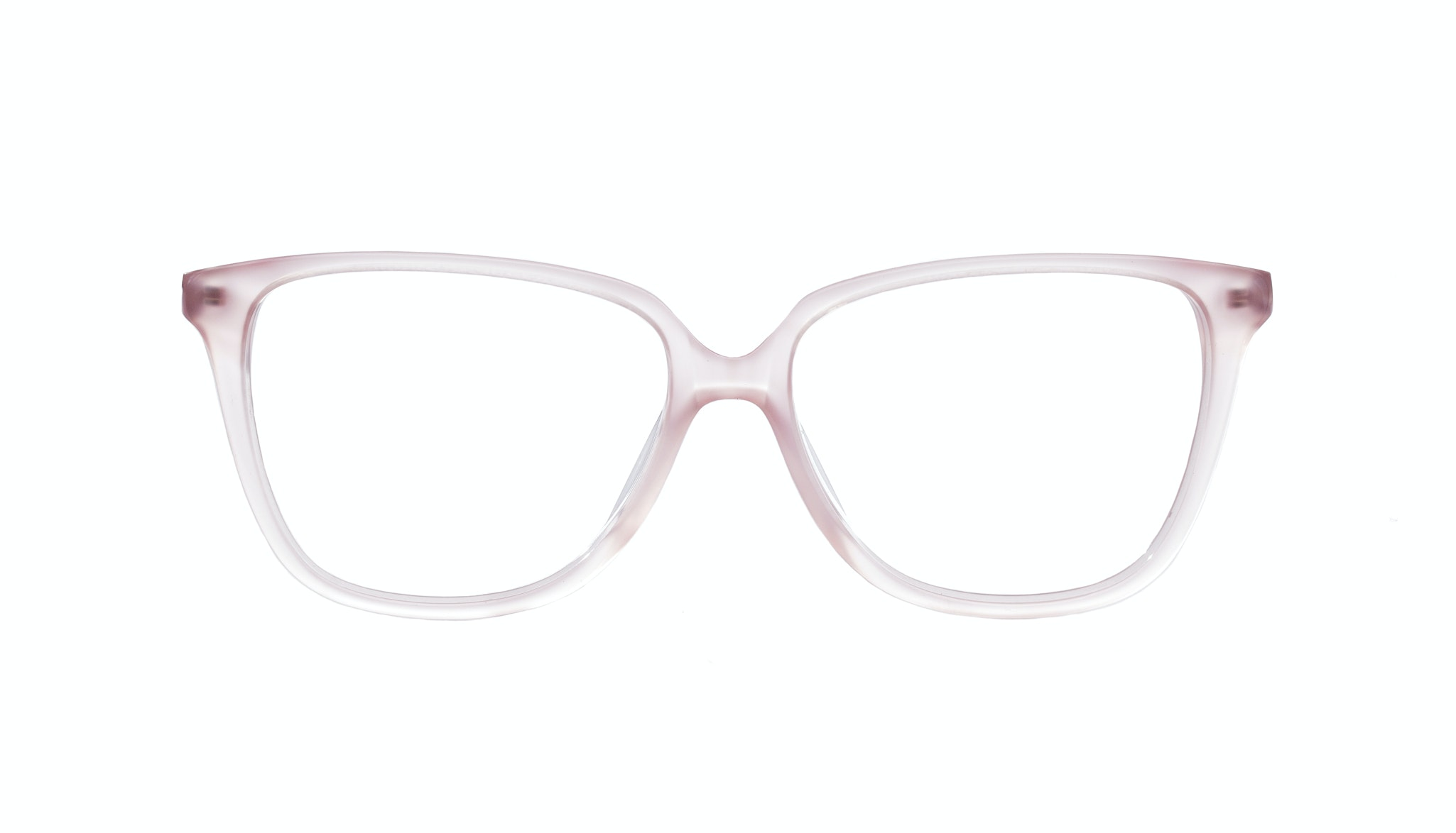 Affordable Fashion Glasses Rectangle Square Eyeglasses Women Muse Pink Mouse