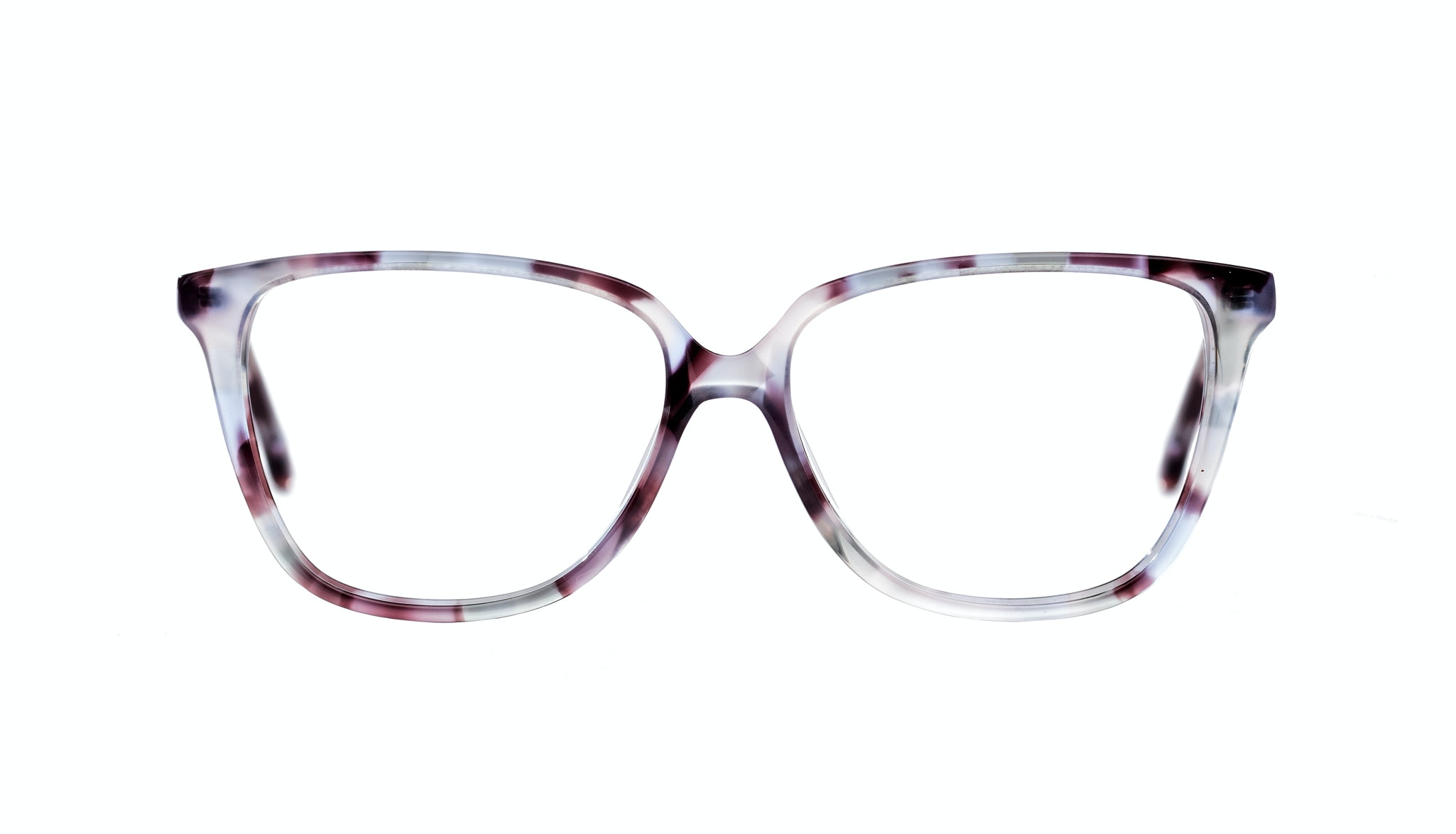 Affordable Fashion Glasses Rectangle Square Eyeglasses Women Muse Lilac Tort